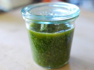 Pesto in Jar