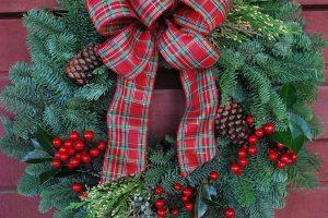 Wreath Plaid 2015