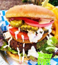 Twisted Gyros - Falafel Burger