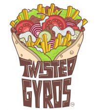 Twisted Gyros Logo