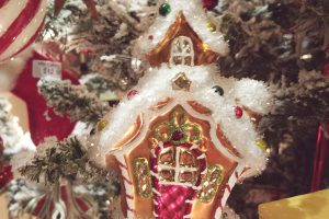 Gingerbread House Ornament 2019 Original